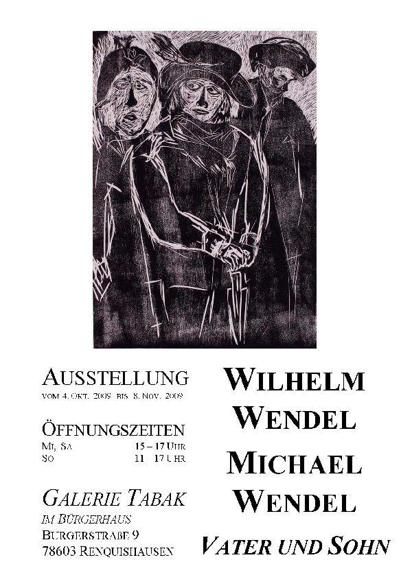 Ausstellung Wendel Herbst 2009