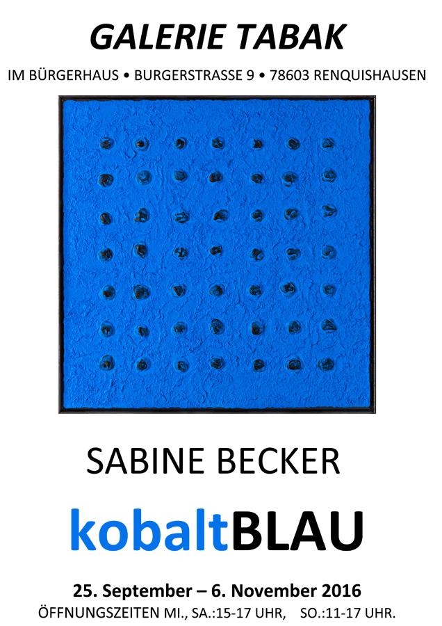 Sabine Becker - kobaltBLAU