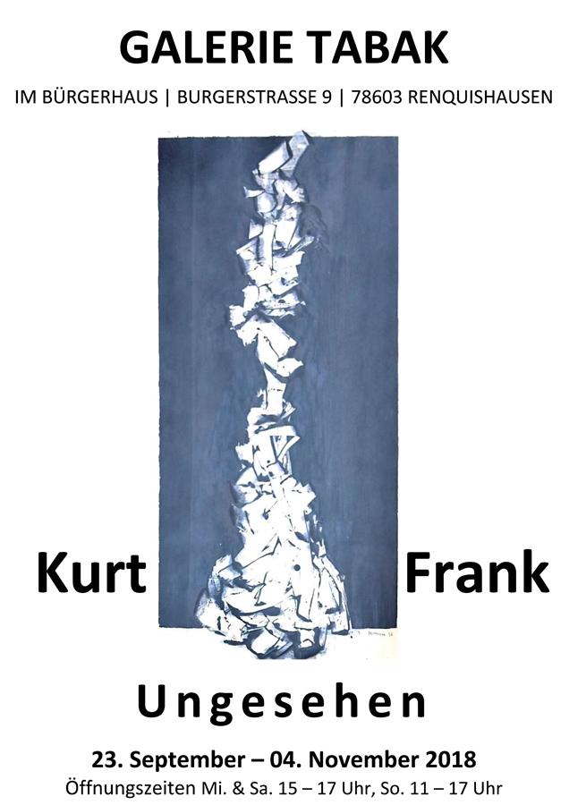 Kurt Frank - Ungesehen