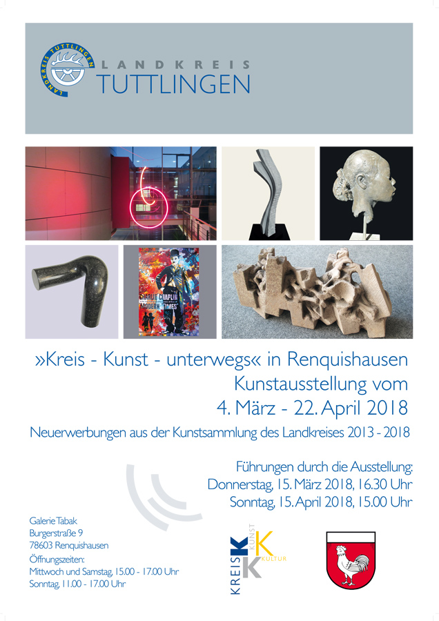 """Landkreis Tuttlingen - """"Kreis - Kunst - unterwegs"""""""