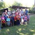 Die Kinder bei den Imkern