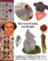 Kunstwerke im Dorf