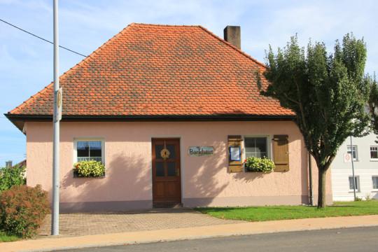 Holzofenbackhaus der Gemeinde
